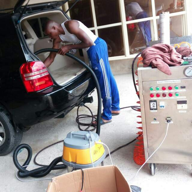 Portable LPG steam cleaning machine uses in  Nigeria